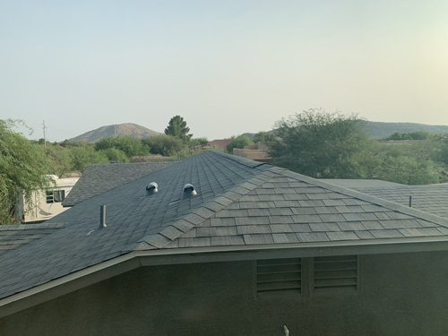 Residential Shingle Roof Replacement Mesa