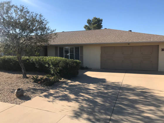 Residential Shingle Roof Replacement Surprise AZ
