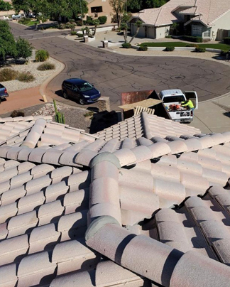 Residential Tile Roof Replacement AZ
