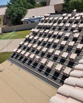 Residential Tile Roof Replacement Repair