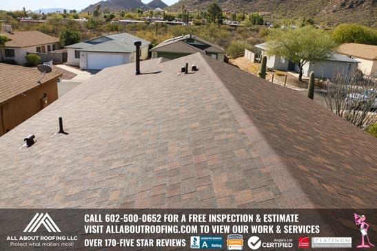 Asphalt Roof Replacement Surprise AZ