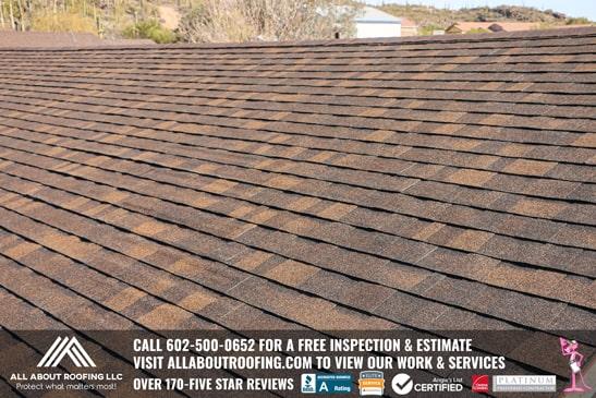 Shingle Roof Replacement Company Phoenix