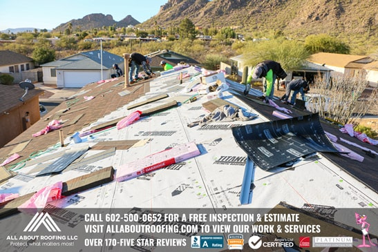 Shingle Roof Replacement Tucson