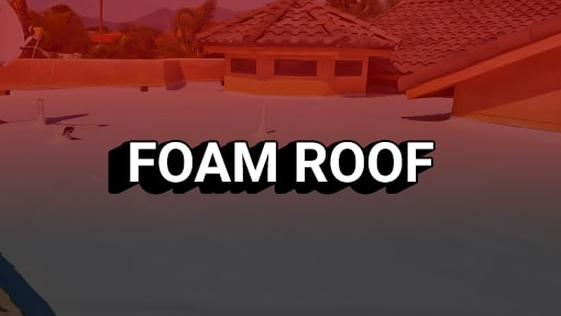 Foam Roof Installation Service