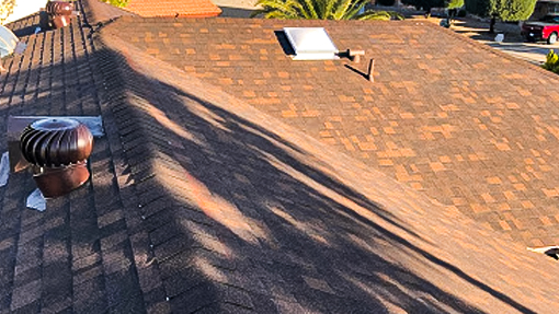 Shingle Roof Replacement After