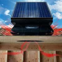 Quietcool Solar Attic Fan