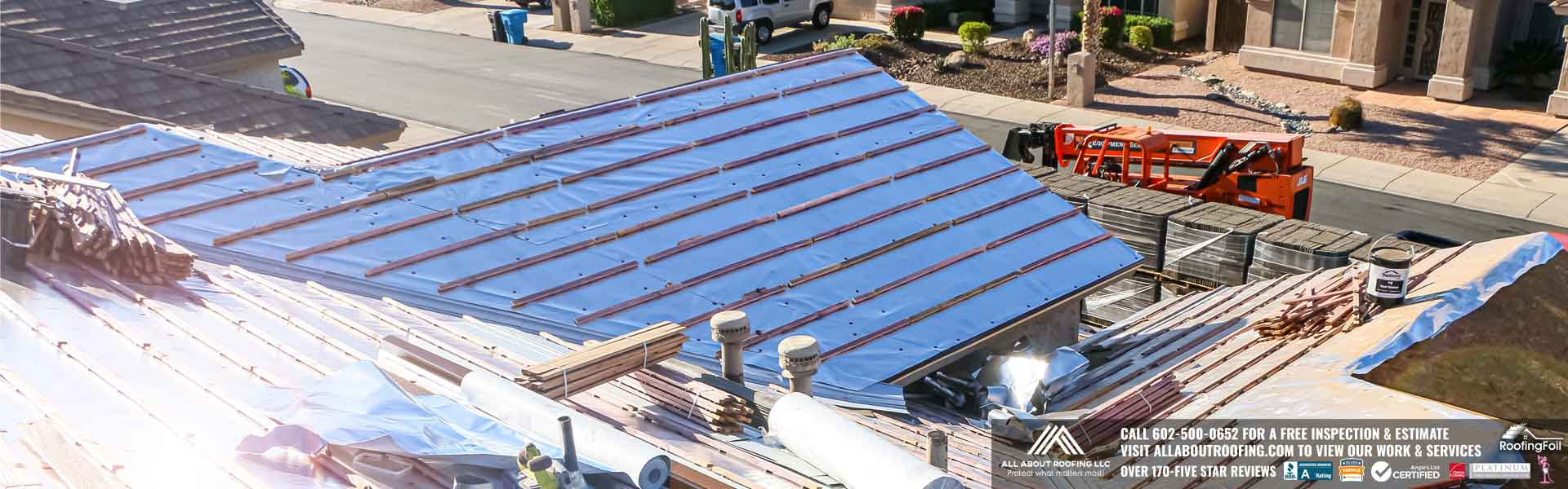 Roofing Foil Installation