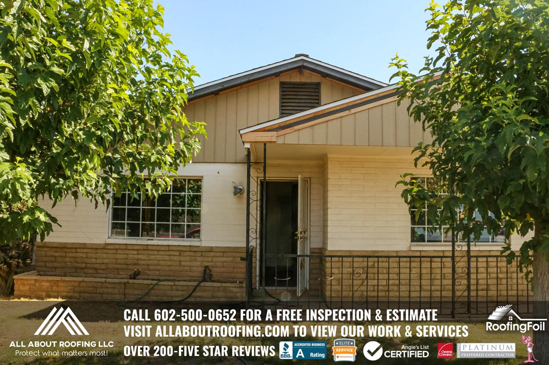 Complete Roof Replacement Paradise Valley AZ