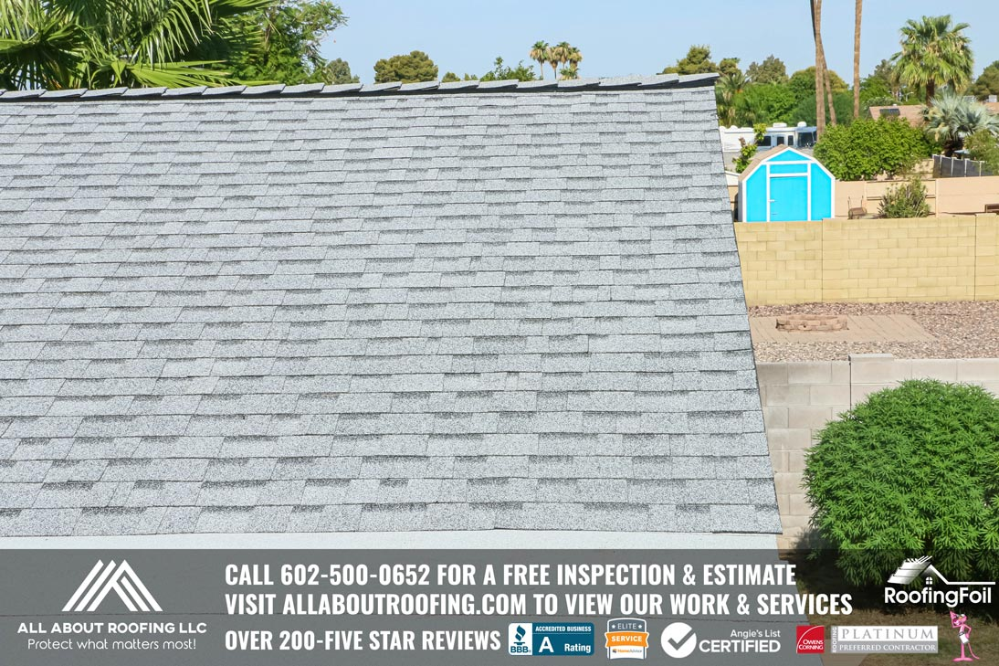 Fire Damaged Roof Replacement Phoenix