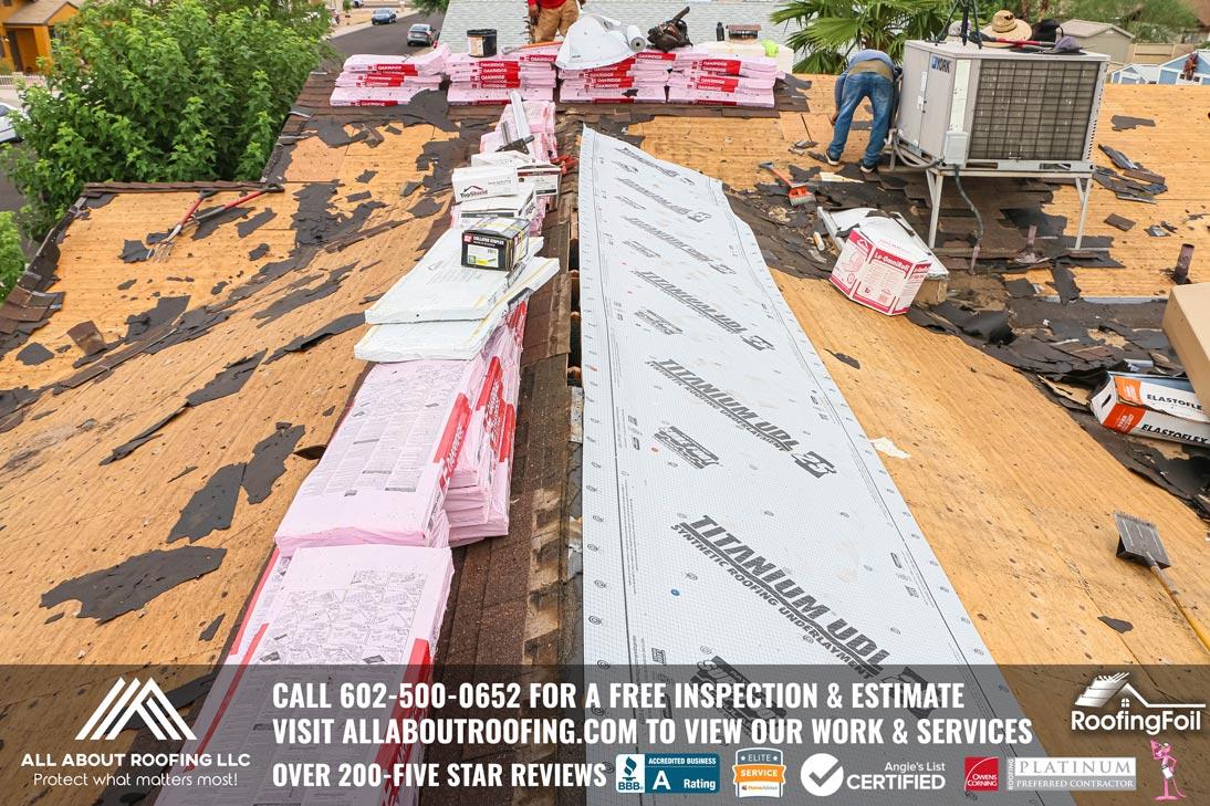 Roof Replacement Titanium UDL 25