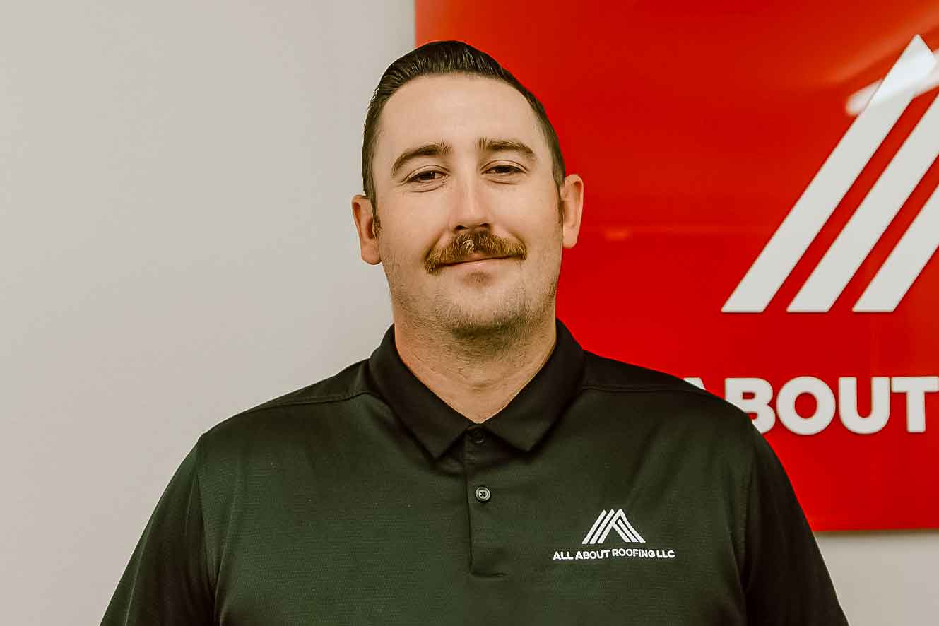 August 2021 All About Roofing Salesperson of the Month